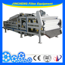 low moisture content belt filter press for Mud, oil,paper making, coal washingpaper making,