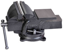 "6"" heavy duty adjustable bench vise"