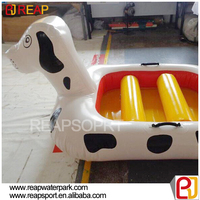 High quality inflatable water toys giant inflatable dog for swimming pool