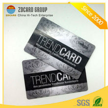 Promotional high quality pvc business gift card stand