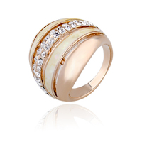 hot sale luxury gold finger ring rings design for women with price