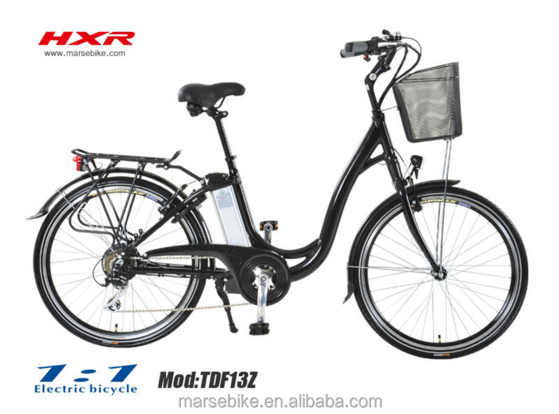 "26""green city electric bike/ebike"