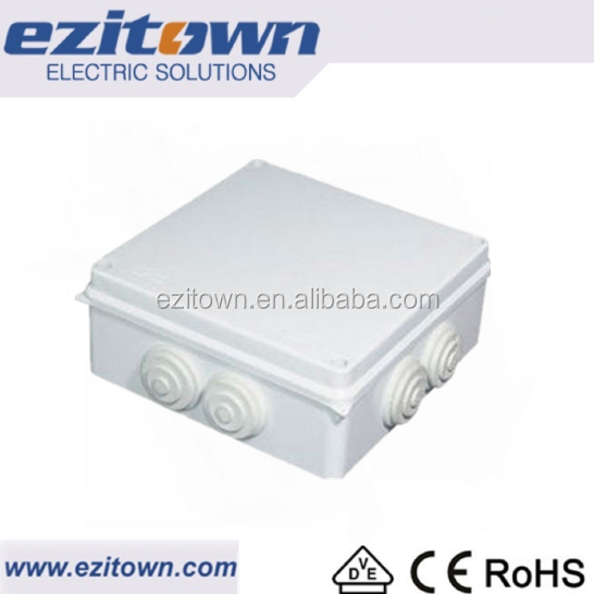 Waterproof pvc junction box\/ electrical plastic junction box IP55