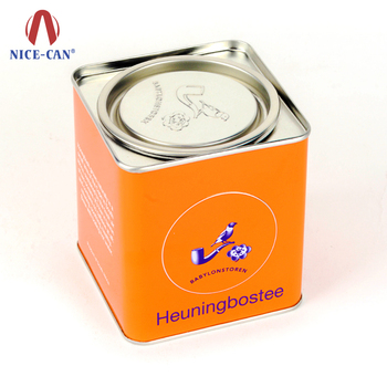 Factory Price Custom Size Custom Shape Tinplate Tin Box Food Grade Tin Can for Powder Milk
