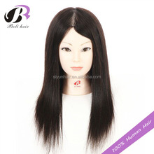 18inch hair training doll head 100% human hair training head factory supply custom mannequin head