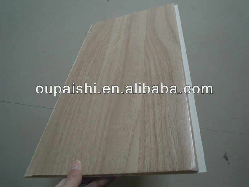 China factory supplier interior decoration types of ceiling finishes laminated PVC panels