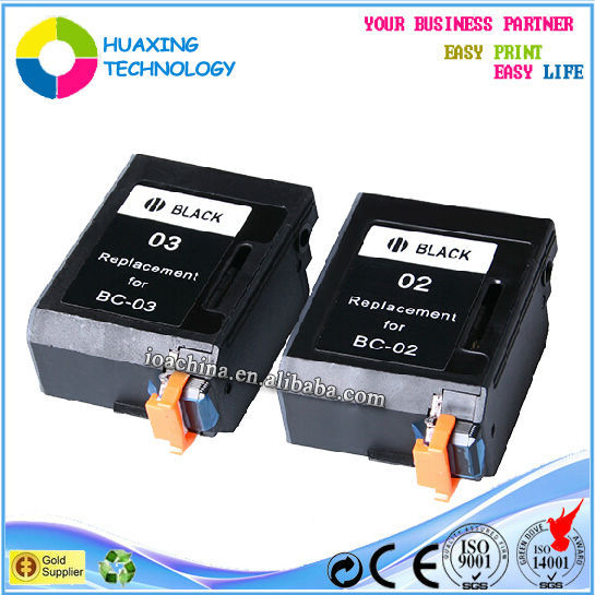 remanufactured ink cartridge for CANON BC-02 refillable ink cartridges