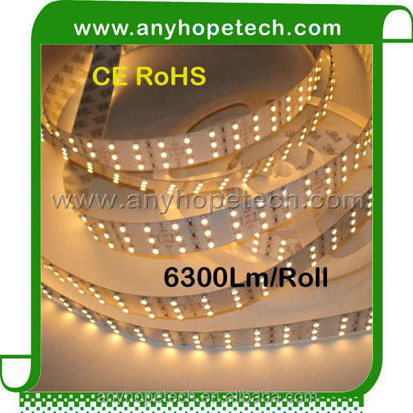 2015 new popular DC12V 6300lm 180leds per meter flexible led strip lighting