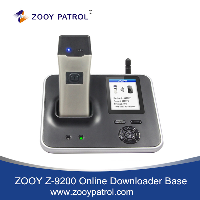 ZOOY Z-9200 Online IP Downloader Base for Guard Tour System