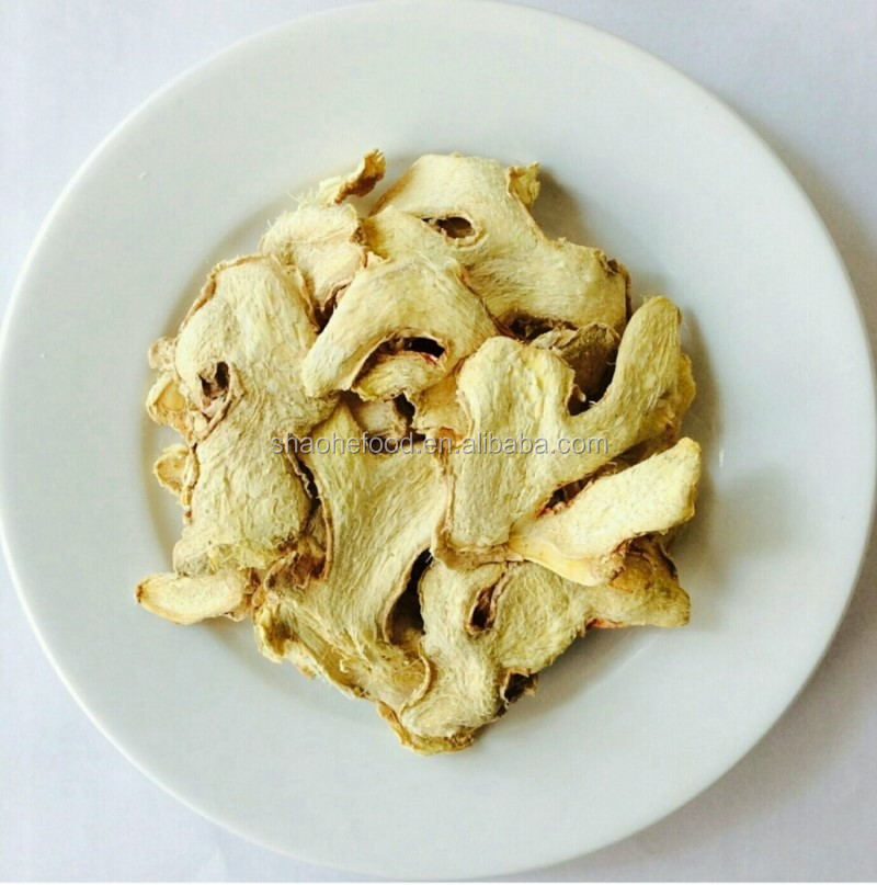 Low Price Wholesale New Crop Grade A Dried Ginger Slice