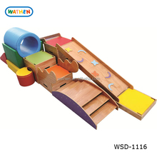 High Quality Toddler Sensory Wood Climber/Slider