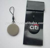 Citigroup promotional gifts - soft pvc mobile phone screen cleaner