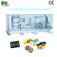 Fashion designed Plastic Ampoule Forming and Filling Machine---DGS 350