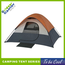 Lightweight sport dome tent 5 person polyester multi colored big size tent