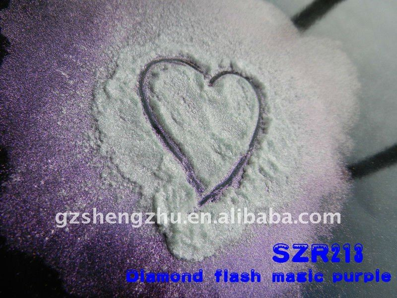 Magic and shimmer mica powder pigment for paints