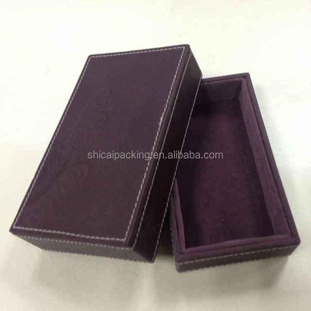 Fashion customized eyewear carrying case sunglasses handmade leather boxes