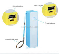 (Hot) Mini Perfume 2600mah power bank, mobile power bank 2600mah, portable powerbank 2600mah