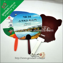 Promotional items to hot summer Mini plastic hand fan cheap hand held fan
