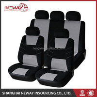 New fashion polyester styling design car seat covers