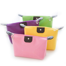 Wholesale Waterproof Dumpling Shape Women Cute Travel Cosmetic Bags