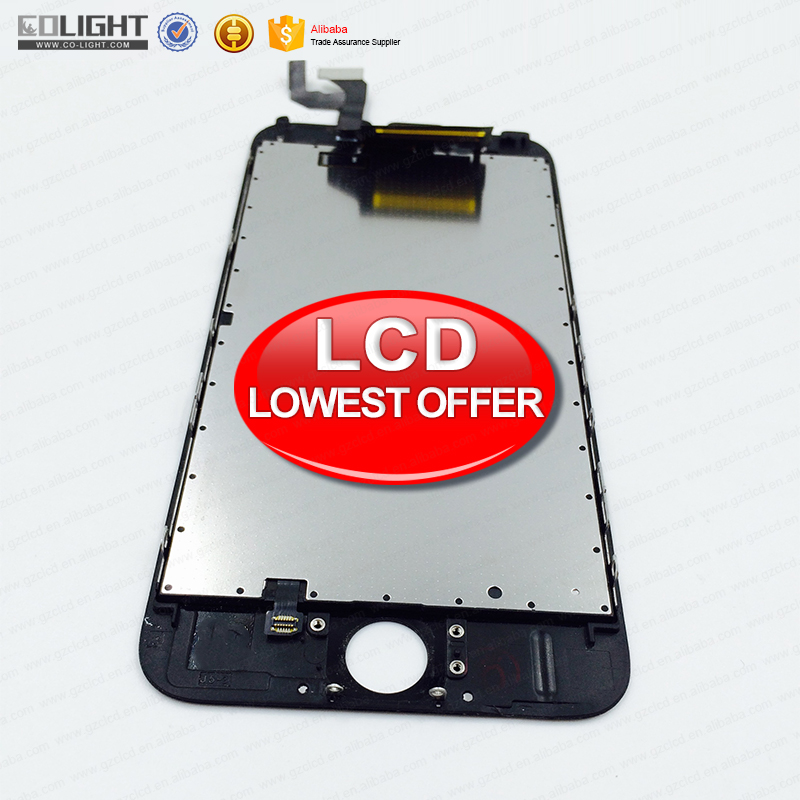 China top saler for iphone 6 plus lcd with digitizer, lcd pannel for iphone 6 plus, for iphone 6 plus screen with 100% warranty