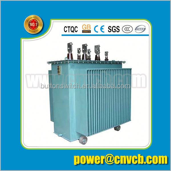 S9 Oil Immersed transformer power bank, Non-excitation Tap-changing Transformer of 35kV and Below good insulation transformer