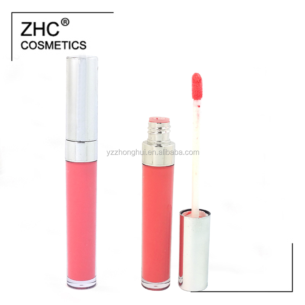 CC36050 New matte lipgloss with shiny tube packing make your own lipgloss with private label