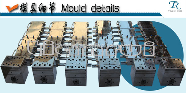 WPC/PVC/PE Extrusion Mould for variety use,customized for you