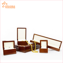 Premium High glossy painting wooden MDF jewelry box for ring earring pendant bracelet necklace