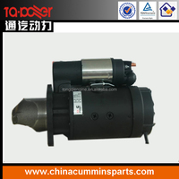 original dongfeng cummins DECE engine spare parts 4BT 6BT 6CT 6L starter motor 3415537