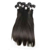 7A Indian Hair No Chemical Process Remy Hair Extension 3bundles/set Indian Hair Bundle 14 inch