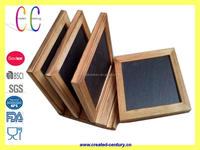 Cheap China slate serving trays wooden tray for christmas decoration factory audit