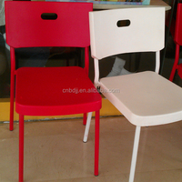 World source international patio furniture promotional cheap plastic chair living room furniture made in China