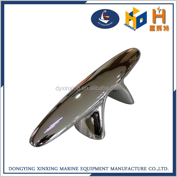 high quality stainless steel boat yacht cleat for sale