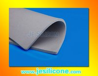 Custom-made 5mm Thick silicone rubber foam sheet .