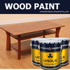 Solvent based wood putty PU NC transparent filler