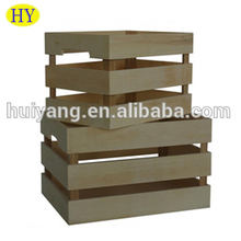 custom cheap wooden crates wholesale for fruit and vegetable
