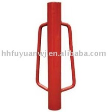 Low cost manual hand fence steel post driver farm tools for fence post