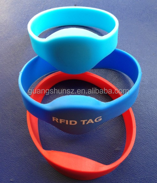 Waterproof RFID 125KHz ID Wristband Bracelet for Access Control Sport Event Hearth Care Child Tracking ISO EM4100 and compatible