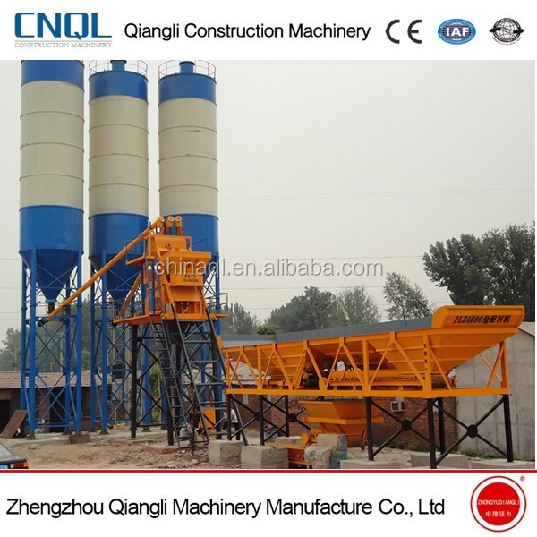 Hopper Concrete Mixing Plant/Station Price HZS50