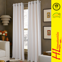 NBHS OKTEX 100 approved matched sheer ready made curtains for living room