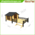 Green Roof Wooden Outdoor Dog Kennels