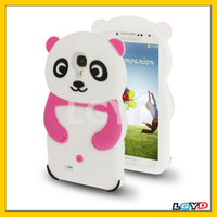 Cute 3D Panda Style Silicone Cases for Samsung Galaxy S4/i9500