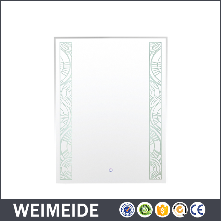 Top quality battery operated led bathroom mirror sensor makeup mirror