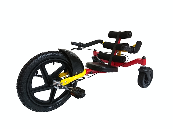 2016 hot sale Unilateral Steering 16 Inch Tricycle - Fishbone shaped seat adult tricycle