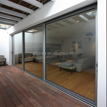 PHONPA New design prefab homes aluminum frame double glass door china supplier