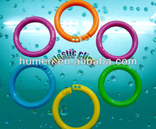 "1 3/4"" color plastic o ring"
