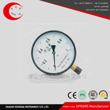 No explosion, crystallize, solidify ordinary pressure gauge
