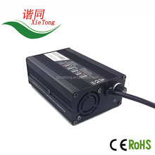 Factory OEM/ODM 48 volt electric skateboards scooter Charger 16S 58.4V LFP Battery Charger 120W 48V 2A LiFePo4 EV charger