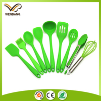 high quality wholesale kitchenwares, non-stick silicone cooking utensils set